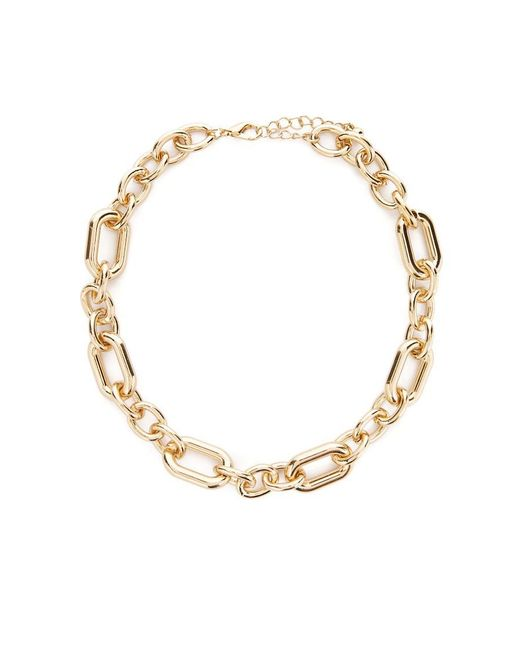 Forever 21 - Metallic Link Chain Necklace - Lyst