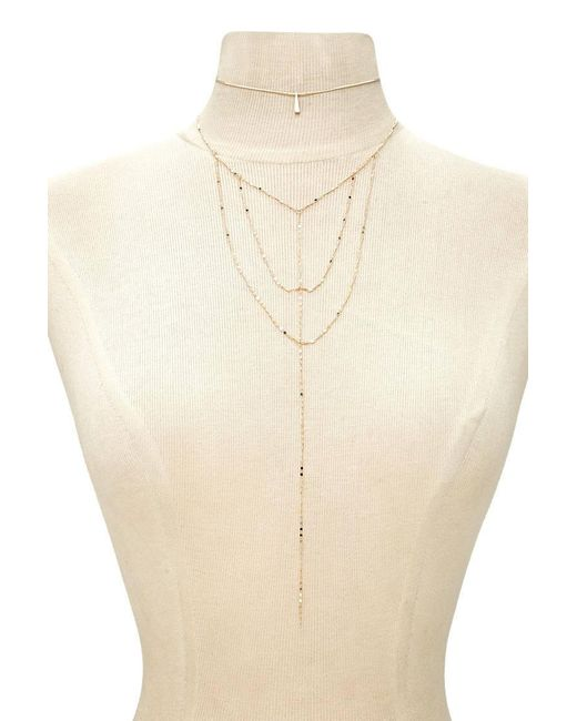 Forever 21 | Metallic Choker & Caged Necklace Set | Lyst