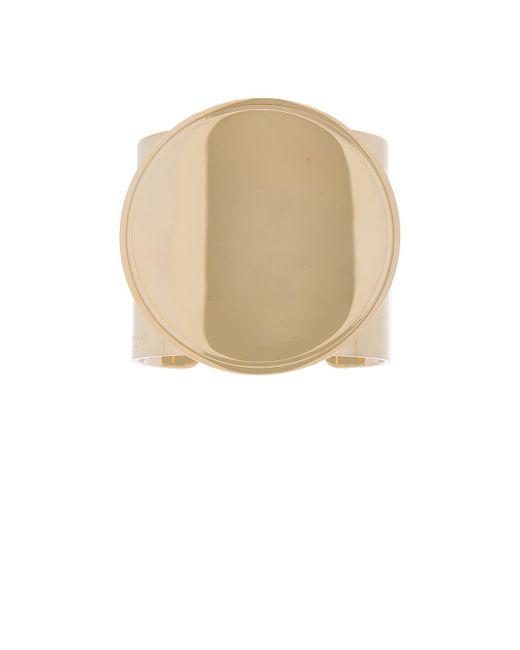 Givenchy | Metallic Geometric Round Bracelet | Lyst