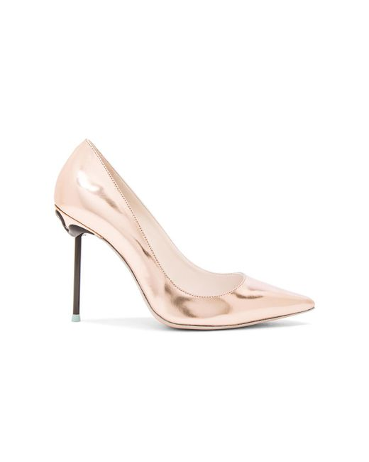 Sophia Webster   Pink Coco Flamingo Leather Heels   Lyst