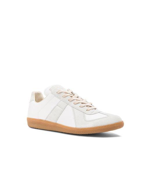 Maison Margiela | White Replica Low Top Sneaker | Lyst