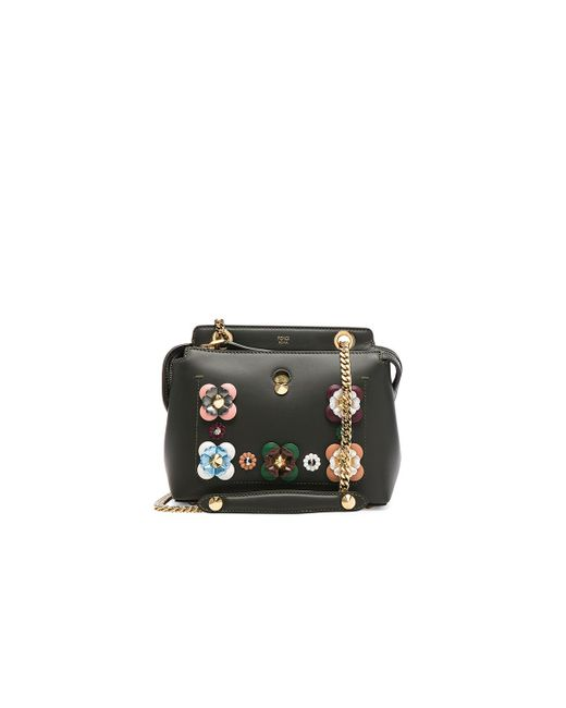 Fendi | Black Embellished Dot Com Click | Lyst