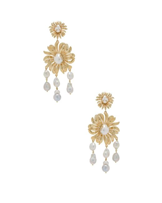 Christie Nicolaides - Metallic Chloe Earrings - Lyst