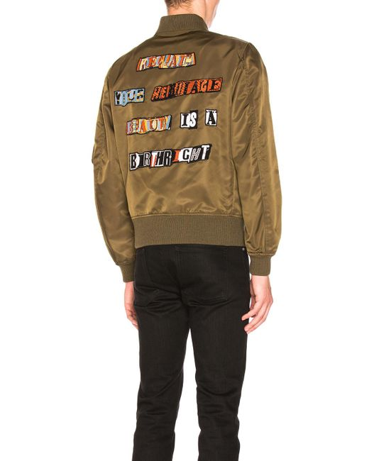 Valentino | Multicolor Star Bomber Jacket | Lyst