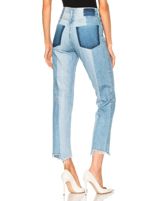 AG Jeans | Blue Phoebe Straight | Lyst