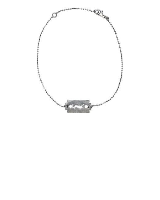 Saint Laurent | Metallic Monogram Bracelet | Lyst