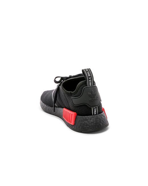 38e372c22e66a ... Adidas Originals - Black Nmd R1 for Men - Lyst ...