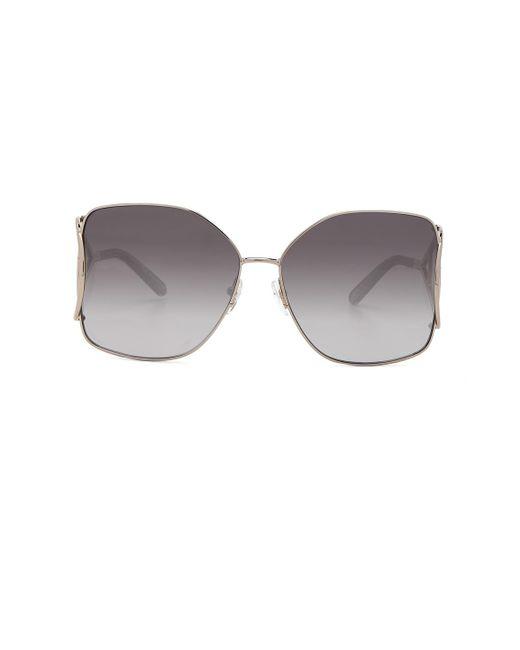Chloé - Gray Jackson Sunglasses - Lyst