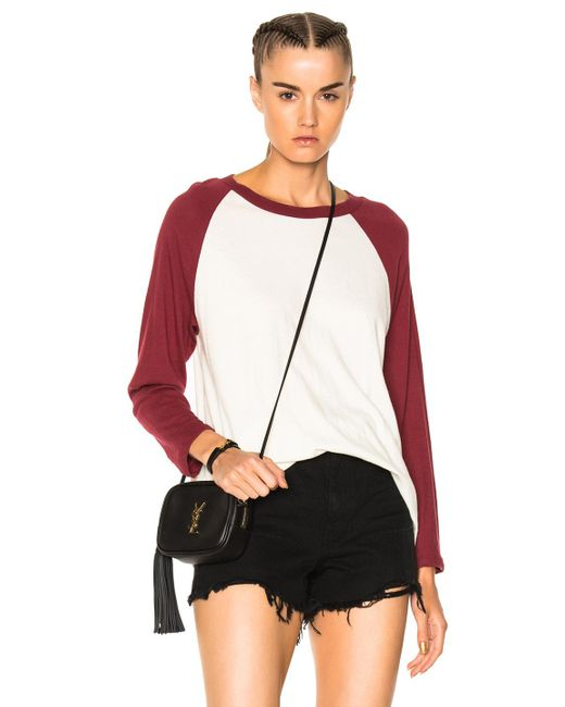 The Great | Red Baseball Tee | Lyst