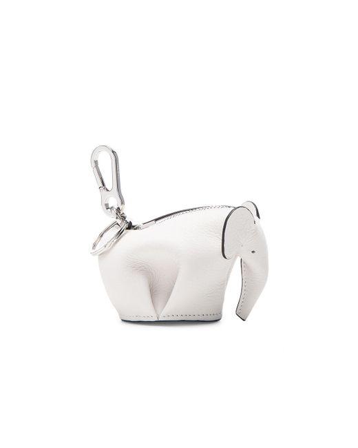 Loewe - White Elephant Charm - Lyst