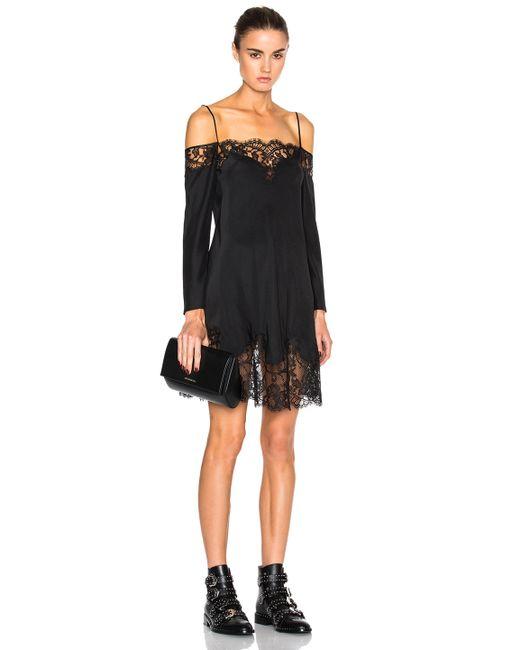 Givenchy | Black 3/4 Length Dress | Lyst