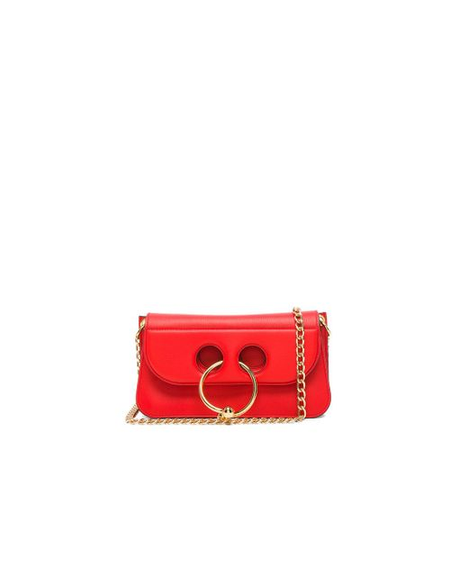 J.W. Anderson | Red Small Pierce Bag | Lyst