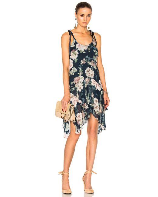 Lover   Blue Dahlia Drop Waist Dress   Lyst
