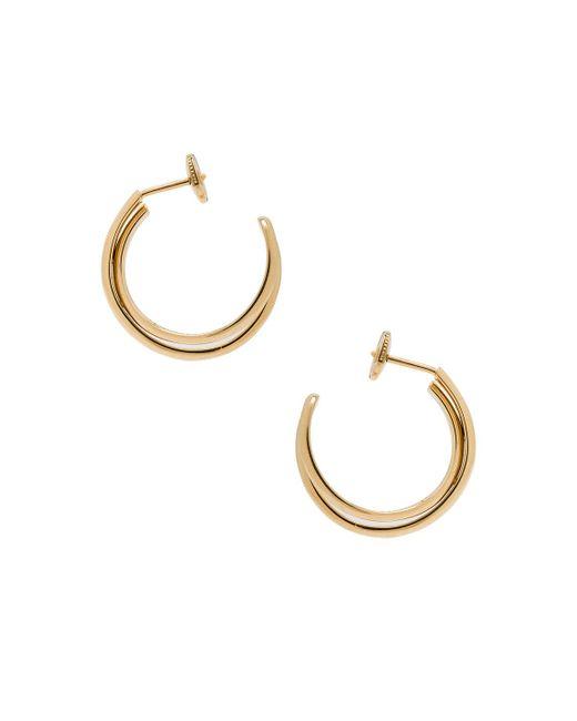 Maison Margiela   Metallic Fine Twisted Earrings   Lyst