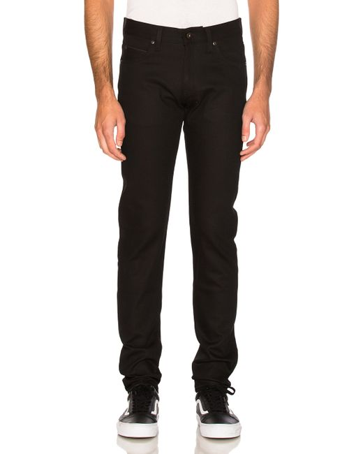 Naked & famous Super Skinny Guy in Black for Men | Lyst