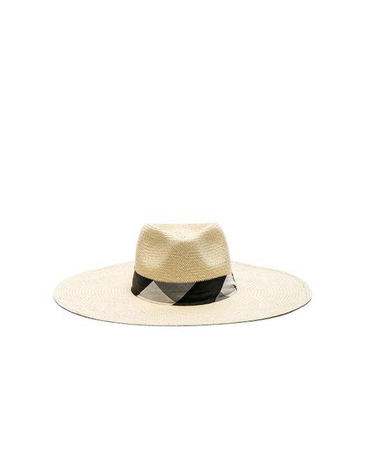 Rag & Bone | Natural Wide Brim Panama Hat | Lyst