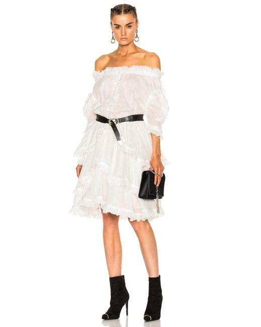 Faith Connexion | White Sail Dress | Lyst