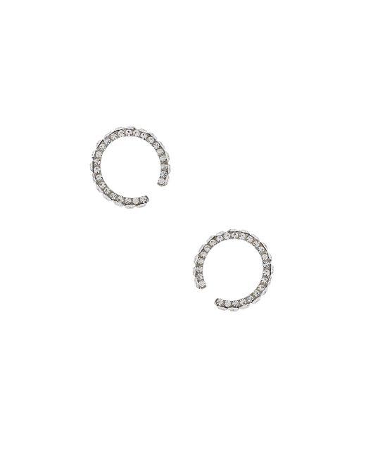 Magda Butrym | Metallic Small Zirconia Earrings | Lyst