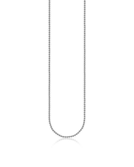 Thomas Sabo - Metallic Blackened Sterling Silver Venezia Chain Necklace - Lyst