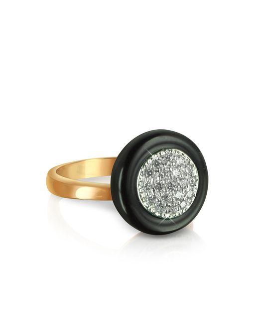 Azhar - Pink White Cubic Zirconia Silver Vermeil Ring - Lyst