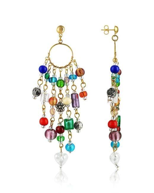 Antica Murrina | Multicolor Brio - Murano Glass Bead Chandelier Earrings | Lyst