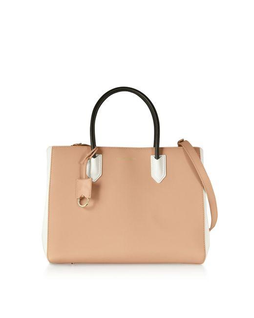 Emporio Armani - Multicolor Color Block Medium Tote Bag W shoulder Strap -  Lyst 326c1c5928fba