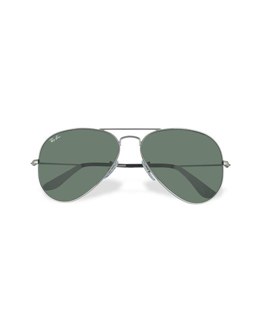 Ray-Ban - Green Aviator - Large Metal Sunglasses for Men - Lyst