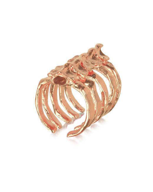 Bjorg - Pink After Eden Spine Ring - Lyst