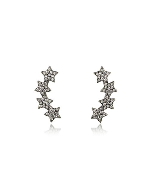 FEDERICA TOSI - Black Lobo Multi Stars Earrings - Lyst