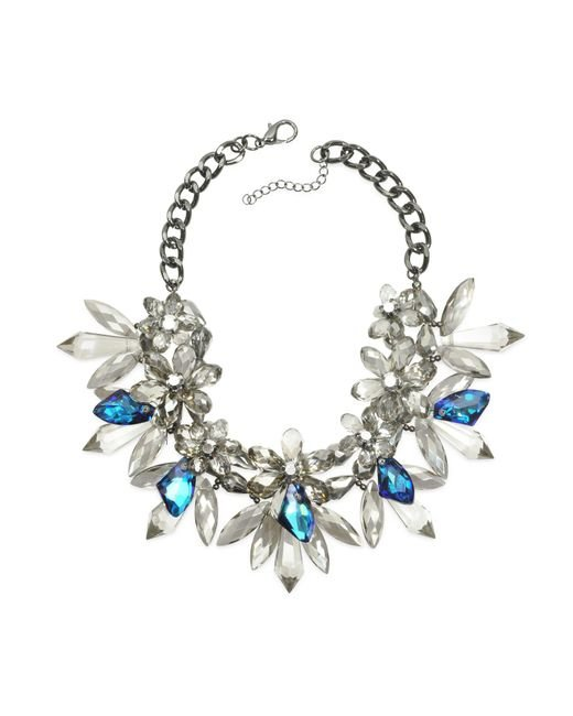 Anabela Chan | Blue Crystal Bloom Necklace | Lyst