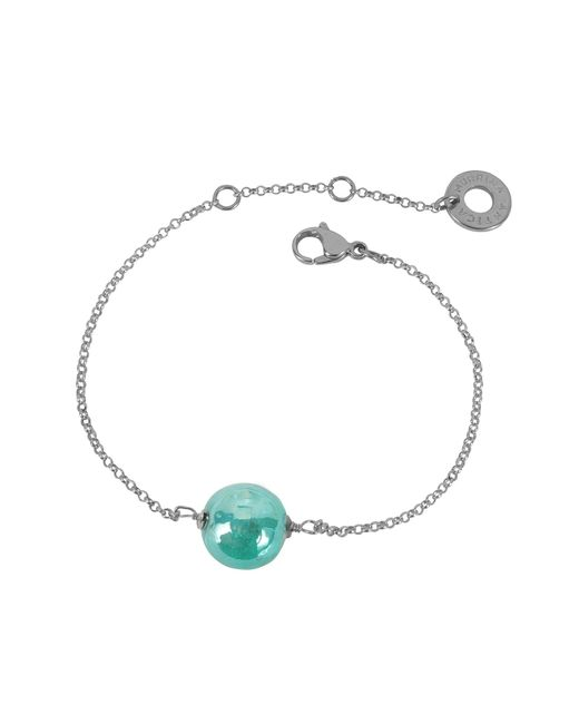 Antica Murrina - Multicolor Perleadi Turquoise Murano Glass Bead Chain Bracelet - Lyst