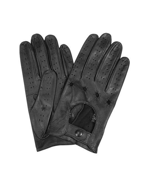 Forzieri - Black Herrenhandschuhe aus italienischem Leder in schwarz for Men - Lyst