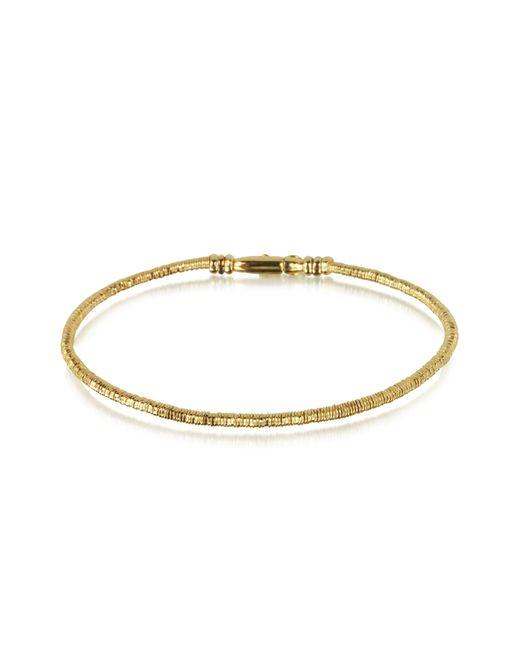 Orlando Orlandini - Metallic Capriccio - 18k Gold Snake Chain Bracelet for Men - Lyst