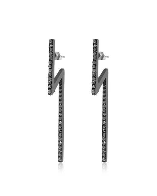 FEDERICA TOSI - Black Flash Earrings - Lyst