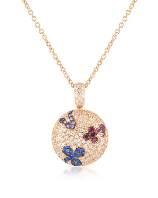 Azhar - Metallic Multicolor Fashion Necklace - Lyst