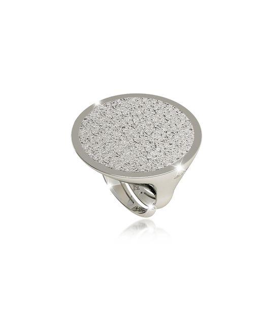 Rebecca - Metallic R-zero Rhodium Over Bronze Ring - Lyst