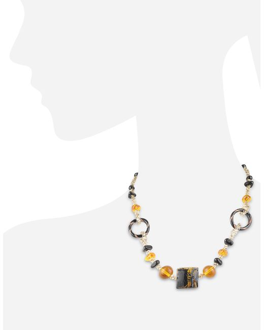 Antica Murrina | Black Bolero - Murano Glass Choker Necklace | Lyst
