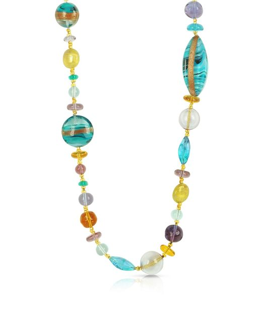 Antica Murrina | Multicolor Niagara - Long Murano Glass Necklace | Lyst