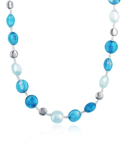 Antica Murrina | Blue Frida - Murano Glass Bead Necklace | Lyst