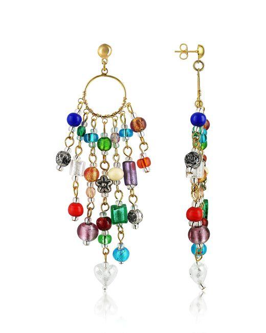 Antica Murrina - Multicolor Brio - Murano Glass Bead Chandelier Earrings - Lyst