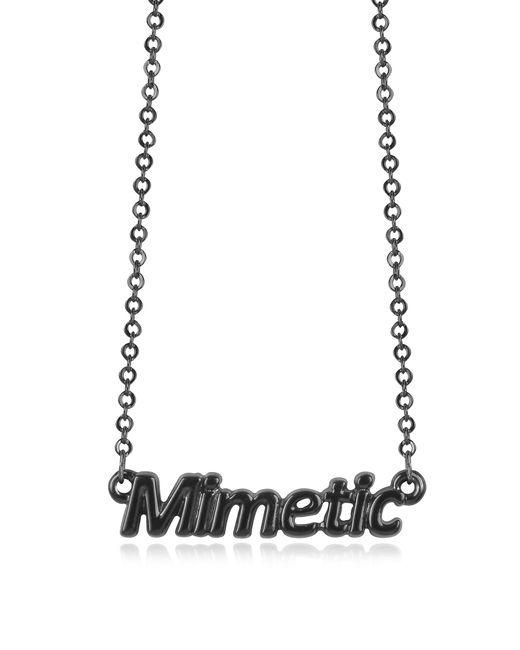 Patrizia Pepe | Black 'mimetic' Necklace | Lyst