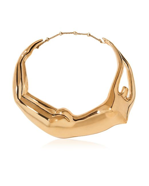 Aurelie Bidermann | Metallic Figuratives Body Gold Plated Necklace | Lyst