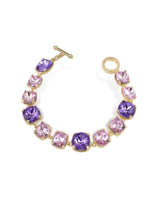 AZ Collection | Purple Amethyst Crystal Bracelet | Lyst
