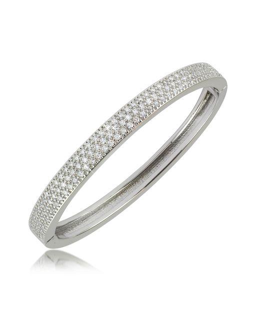 Azhar - Metallic Cubic Zirconia Bracelet - Lyst
