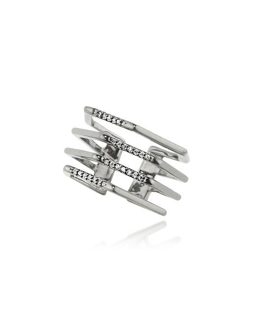 FEDERICA TOSI - Metallic Cage Ring - Lyst