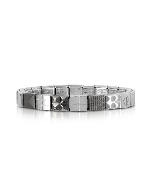 Nomination - Metallic Steel Ikons Polished And Brushed Stainless Steel Bracelet for Men - Lyst