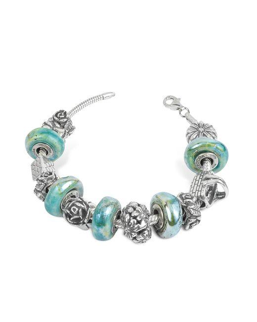 Tedora | Metallic Sterling Silver Garden Bracelet | Lyst