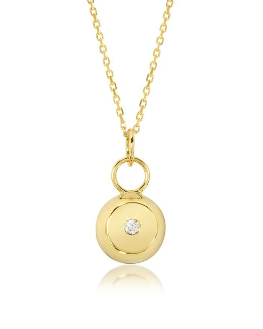 Aurelie Bidermann | Metallic Telemaque 18k Yellow Gold And Diamond Bell Charm | Lyst
