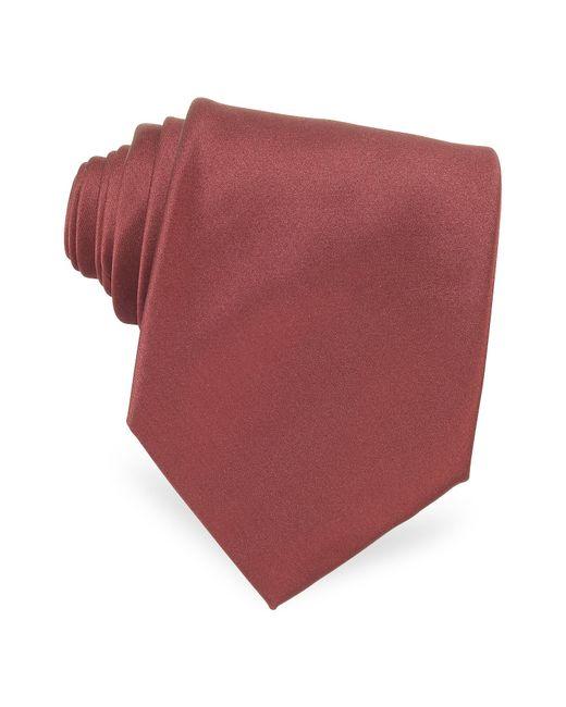 Forzieri   Multicolor Solid Silk Tie for Men   Lyst