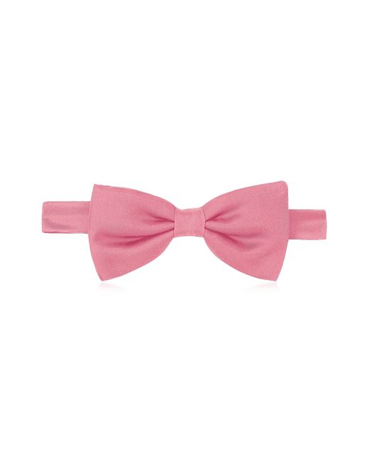 FORZIERI | Pink Solid Pre-tied Silk Bowtie for Men | Lyst